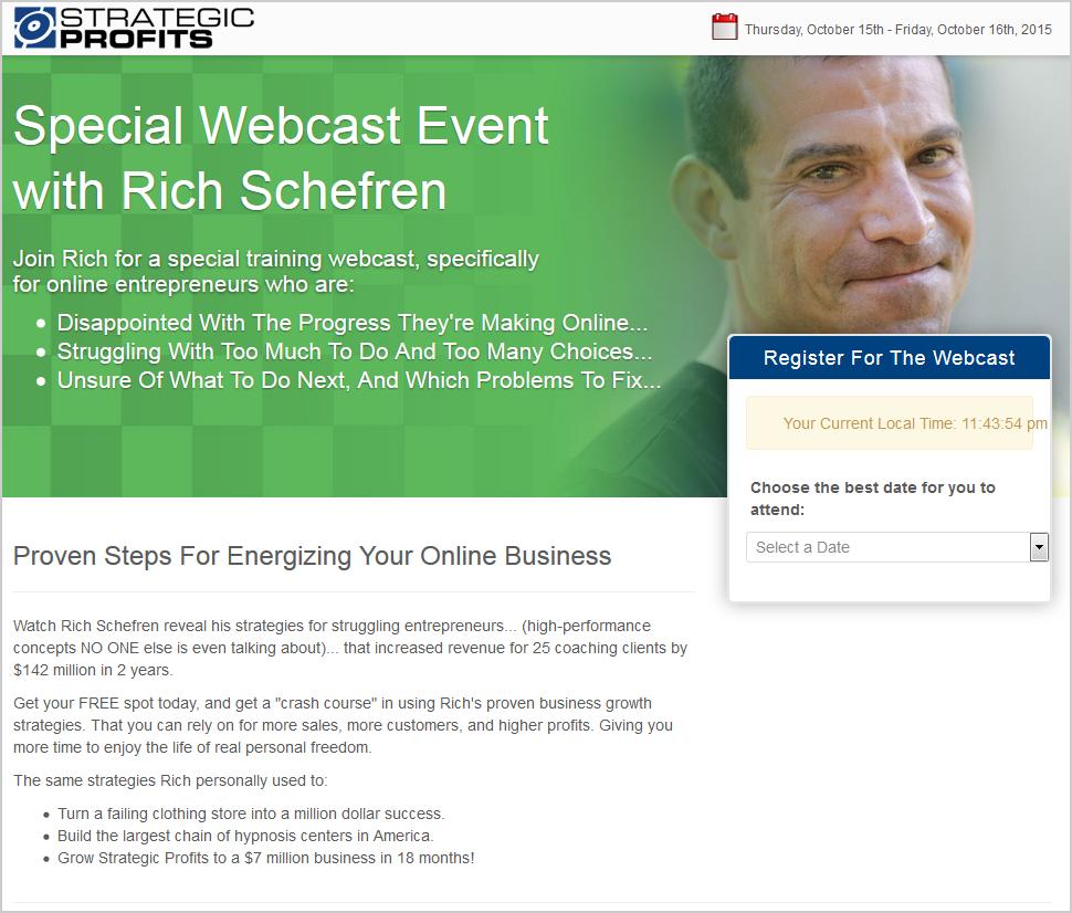 ウェビナー-リッチ-シェフレン-Rich-Schefren-ウェビナー-オプトインページ