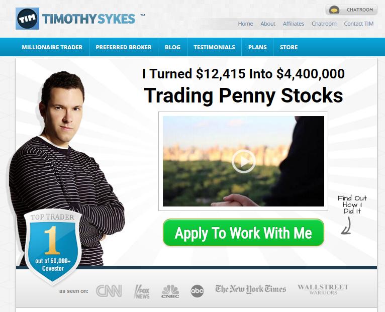 ウェビナー-ティモシー-サイクス-Timothy-Sykes-ホームページ-トップページ