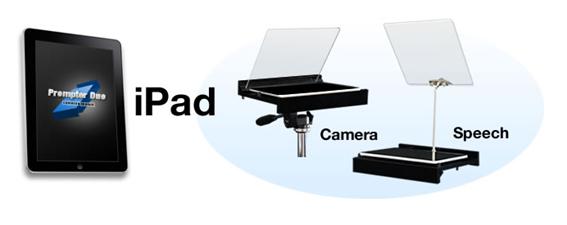 エバーグリーンローンチ-ウェビナー-イメージ-プロンプター-iPad