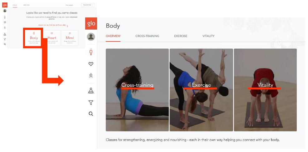 メンバーシップサイト-yogaglo-カテゴリ-body