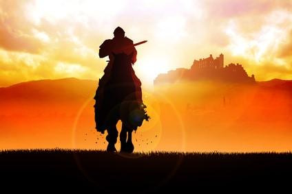 ヒーローズ-ジャーニー神話の法則-馬に乗った騎士