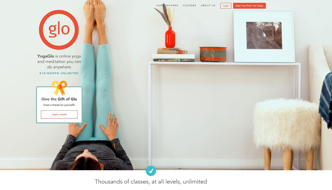 メンバーシップサイト-yogaglo-ヨガグロー-ホームページ
