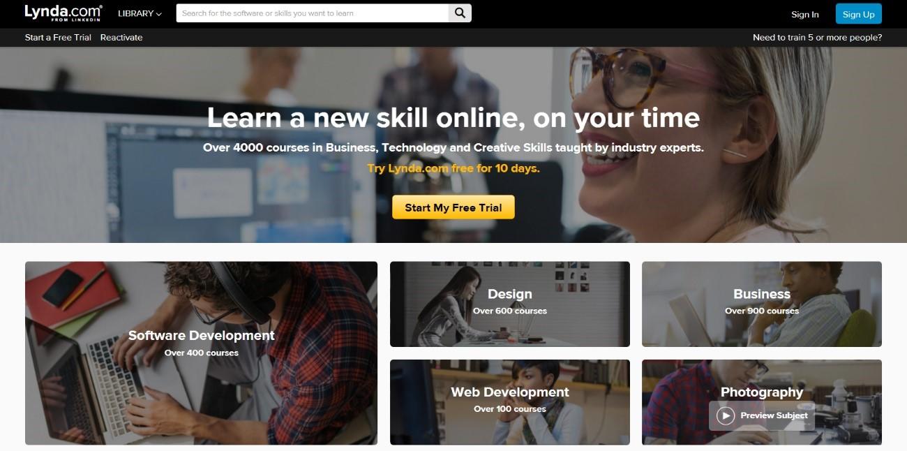 会員制ビジネス-Lynda.com-リンダドットコム-ホームページ