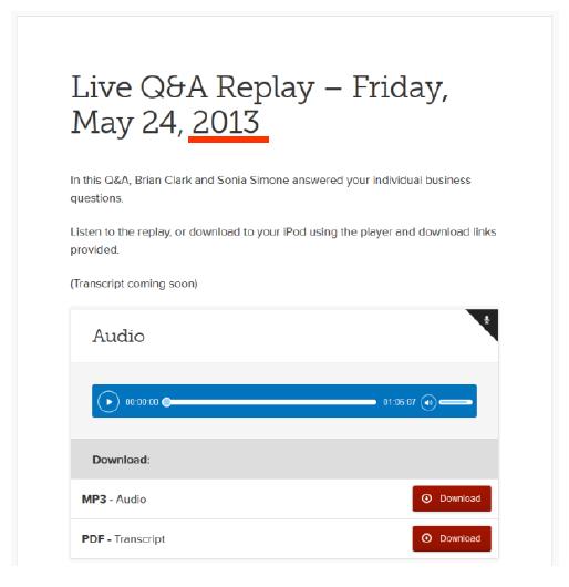 メンバーシップサイト-copyblogger-authority-コピーブロガー-オーソリティ-Q&A-セッション