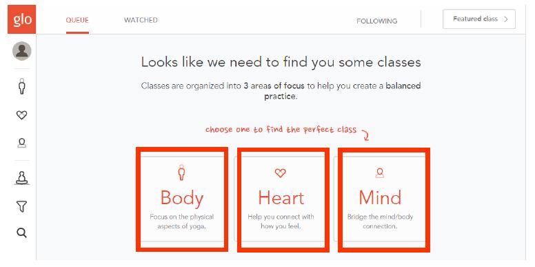 メンバーシップサイト-yogaglo-カテゴリ-body-heart-mind
