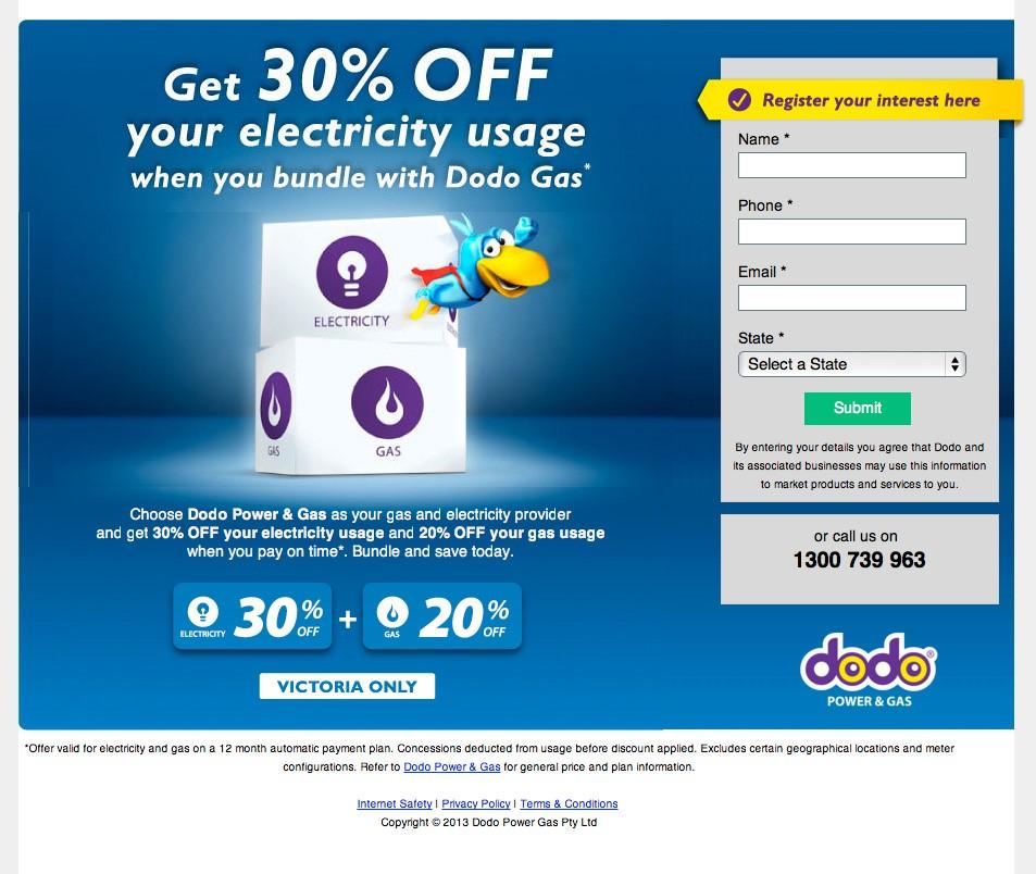 オプトインページ-connectto.dodo.com