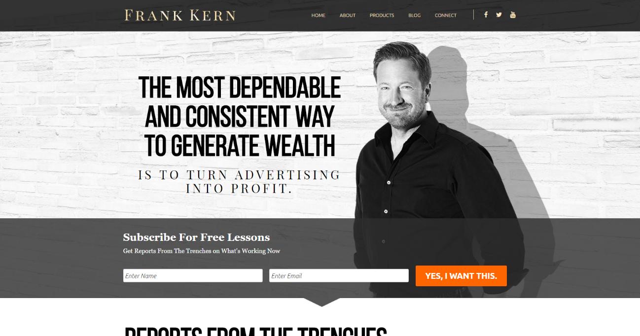 オプトインページ-フランク-カーン-Frank-Kern