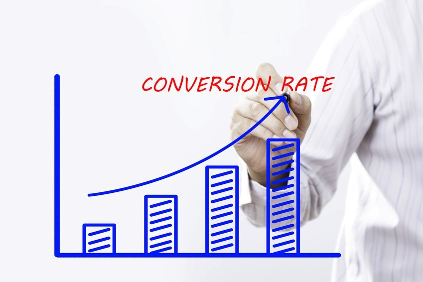 成約率-conversion-rate-右肩上がりのグラフ