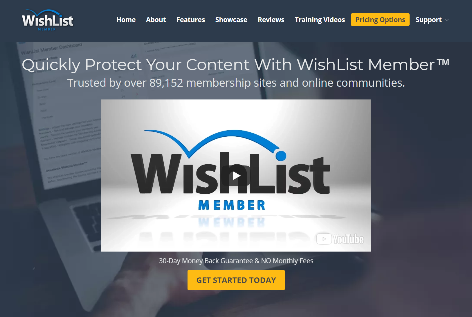WishList-ホームページ