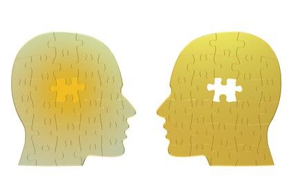 2つの頭のパズル