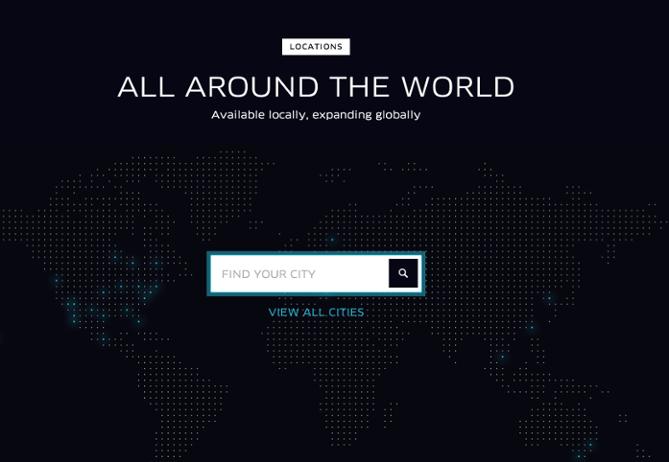 Uber-あなたの街を探す