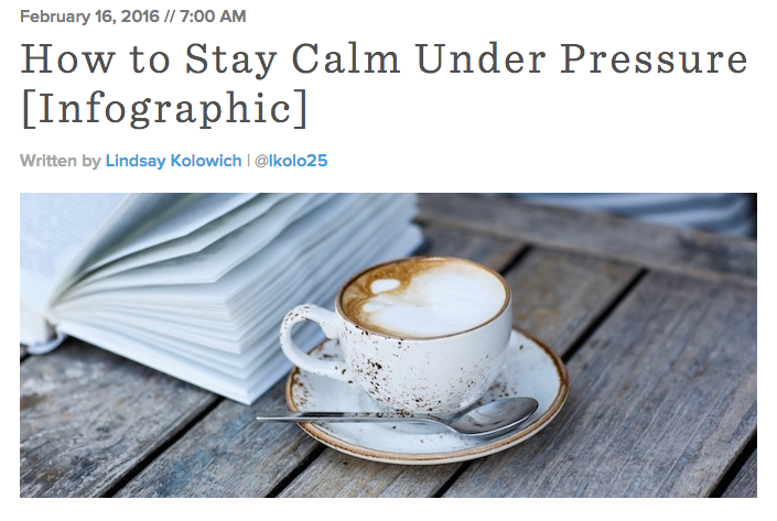 How-to-Stay-Calm-Under-Pressure-Infographic