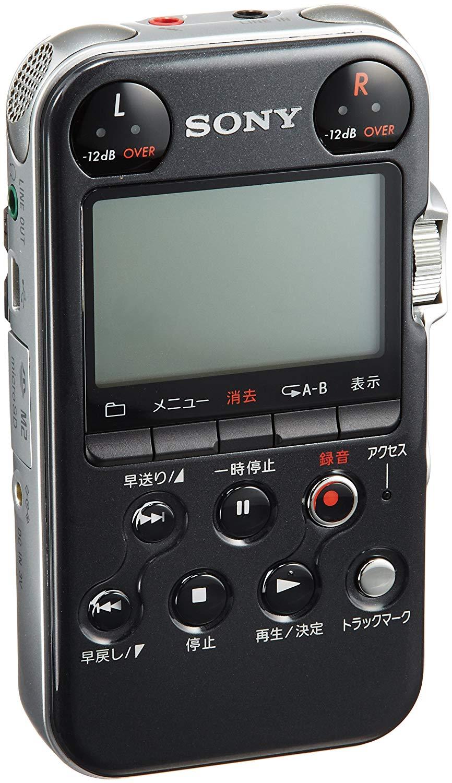 SONY-リニアPCMレコーダー-M10-ブラック-PCM-M10B