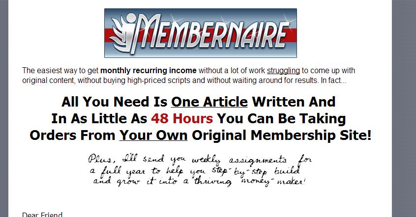 membernaire