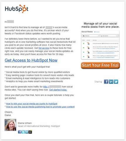 Hubspot社の事例1