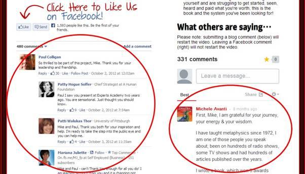 Facebook のコメントプラグイン