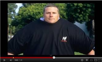 Tシャツを何枚重ね着できるかというギネス記録に挑んだ動画