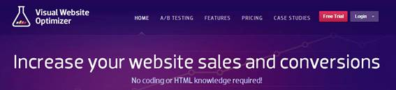 Visual-Website-Optimizerのウェブサイト