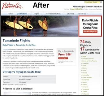 Nature-Airのウェブサイト-変更後